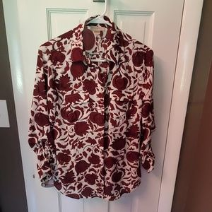 Ladies Ann Taylor Blouse